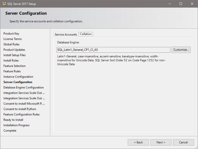 Installing SQL Server 2017 | sqlsunday com