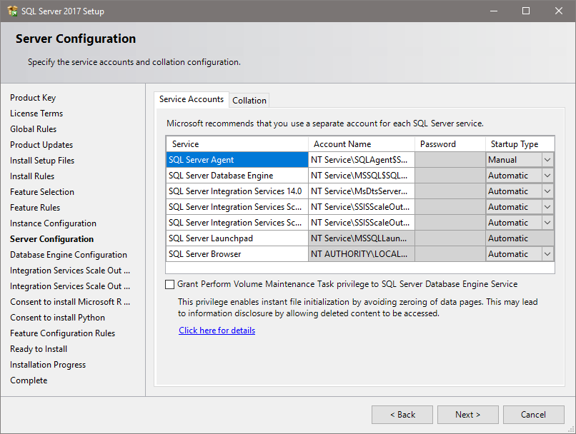 microsoft sql server 2017 reporting services install