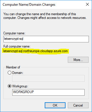 Encrypting SQL Server connections with Let's Encrypt